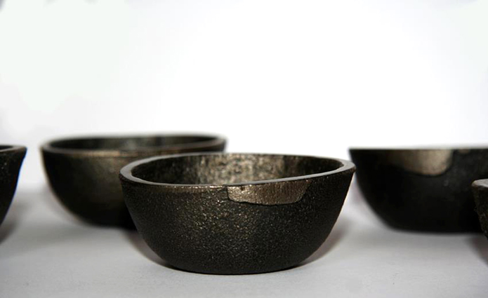 Small Cast iron bowls